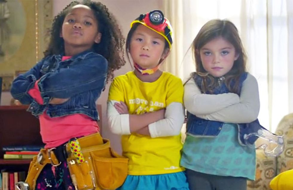 Girls in engineering: New badass advert by GoldieBlox encourages girls to get engineering