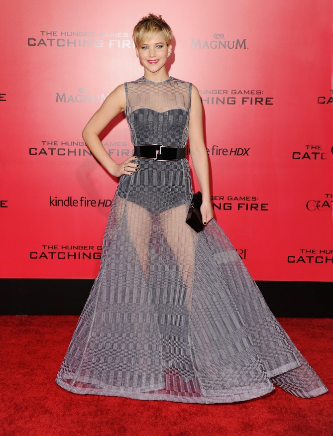 Jennifer Lawrence superbe sur le tapis rouge