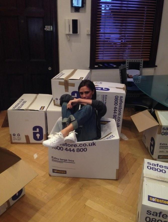 Victoria Beckham généreuse