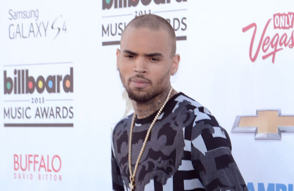 Chris Brown kicked out of rehab for allegedly throwing rock at mum's car