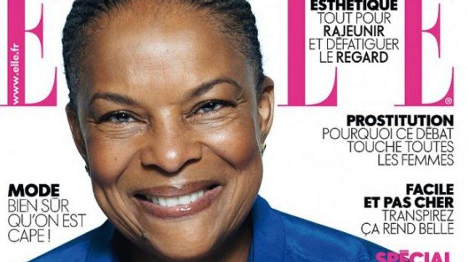 Christiane Taubira : Elue « femme politique de l'année » par ELLE