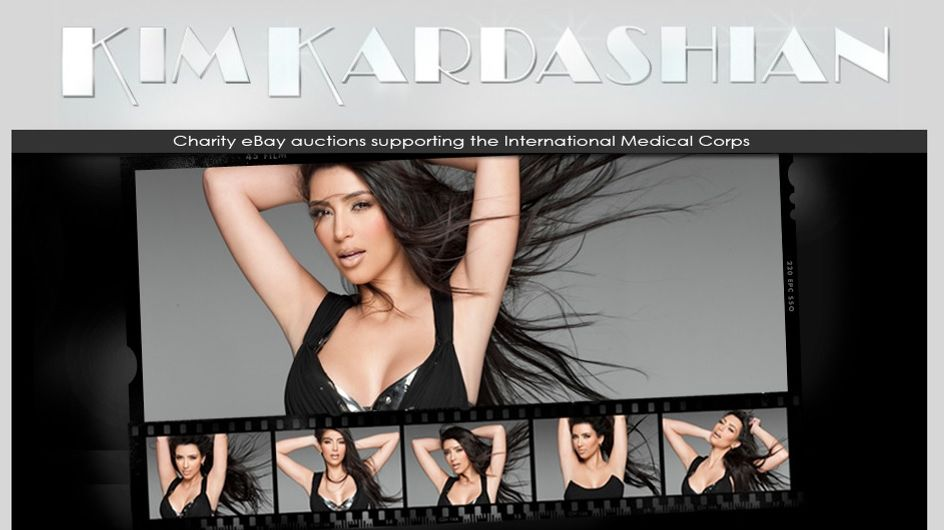 Kim Kardashian : Sa garde-robe en vente sur eBay (Photos)