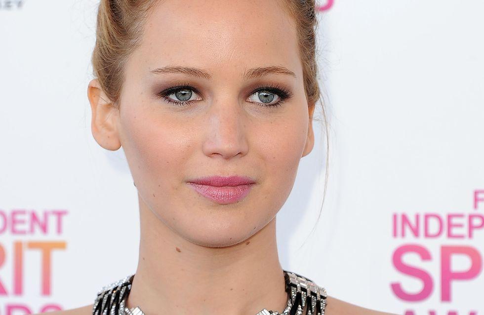 Jennifer Lawrence : Sa robe transparente trop révélatrice