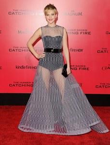 Jennifer Lawrence robe Dior