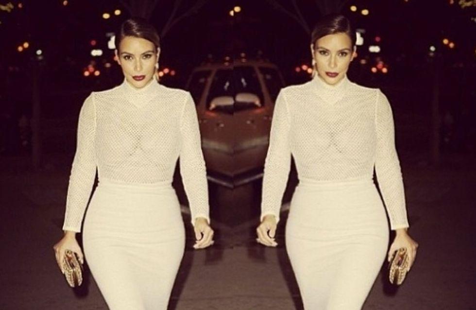 Kim Kardashian : Une virée shopping avec North West