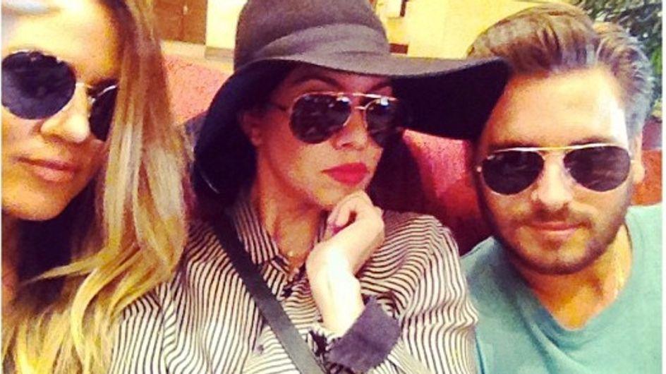 Kourtney Kardashian : Son fiancé et sa soeur sont-ils trop proches ?