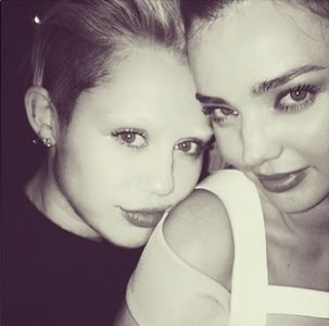 Miley Cyrus et Miranda Kerr