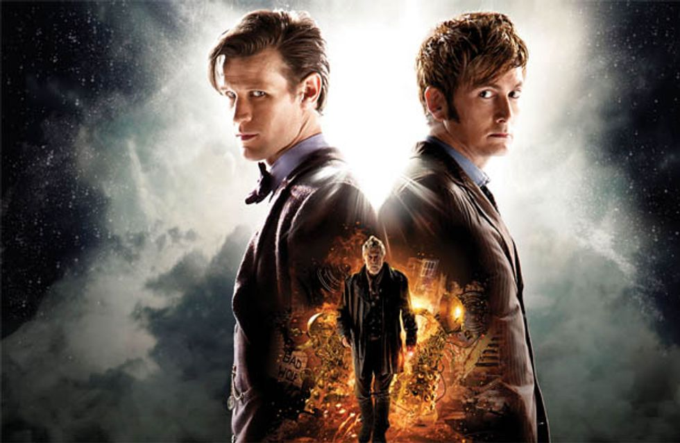WATCH: Doctor Who 50th Anniversary deleted scene released