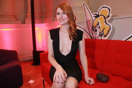 Elodie Frégé à la soirée We Love Disney à Paris le 25 novembre 2013
