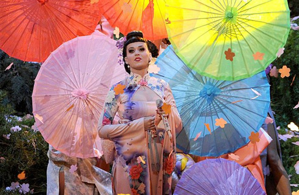 Katy Perry embroiled in racism row after controversial Japanese-inspired performance