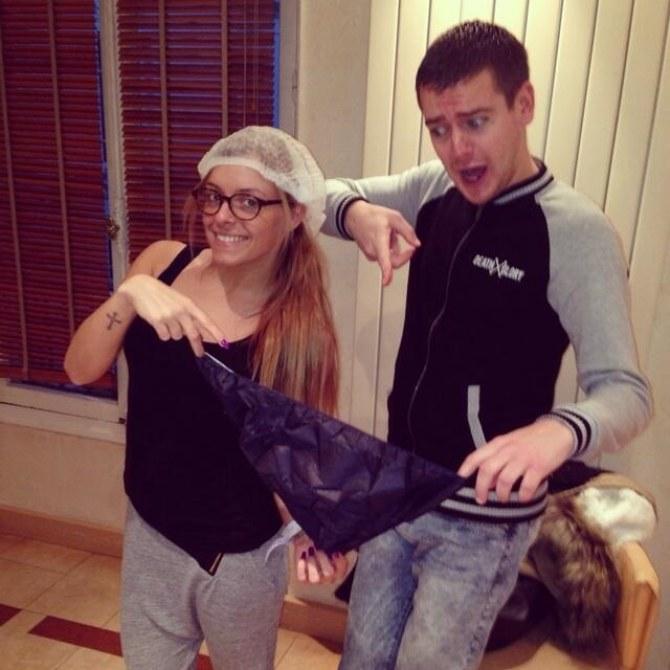 Alexia et Jeremstar avant l'opération