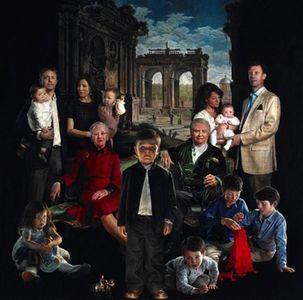 El retrato de la familia real danesa