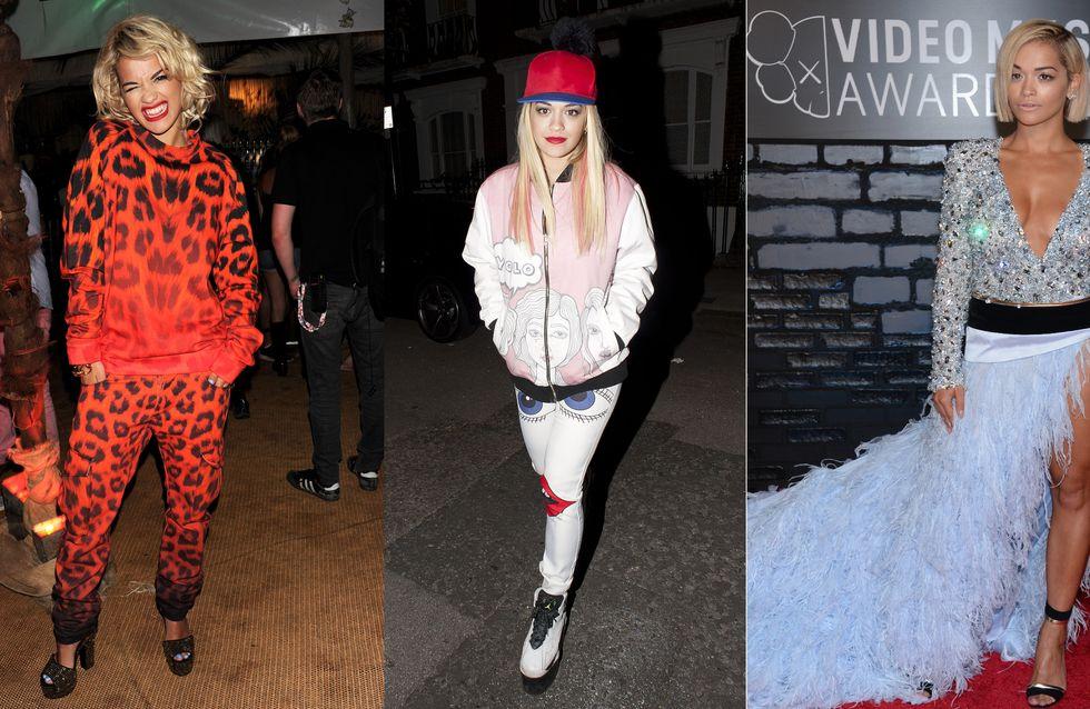 Rita Ora : Retour sur 23 ans de looks déjantés (Photos)