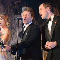 WATCH: Prince William, Taylor Swift and Jon Bon Jovi perform Livin' On A Prayer