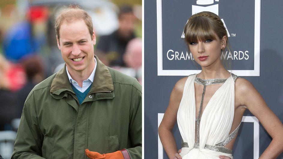 Prince William : Sous le charme de Taylor Swift