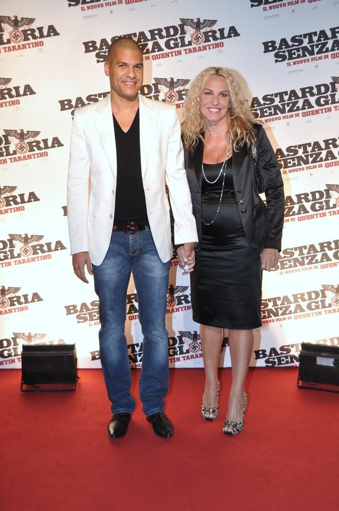 Antonella Clerici e Eddy Martens