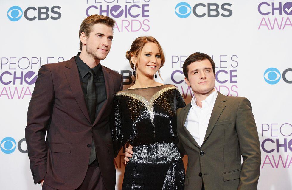 "Liam Hemsworth (Hunger Games 2) : ""Embrasser Jennifer Lawrence était très gênant"" (Vidéo exclu)"