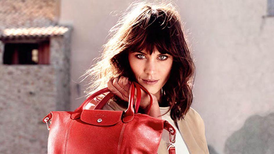 Alexa Chung est la nouvelle égérie Longchamp (Photos)