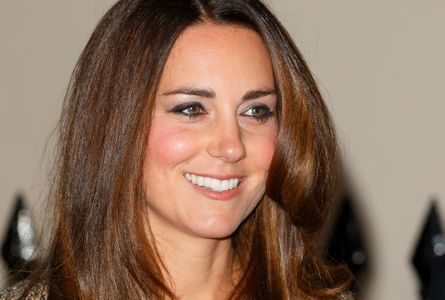 Le maquillage scintillant de Kate Middleton