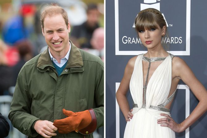 Le Prince William et Taylor Swift