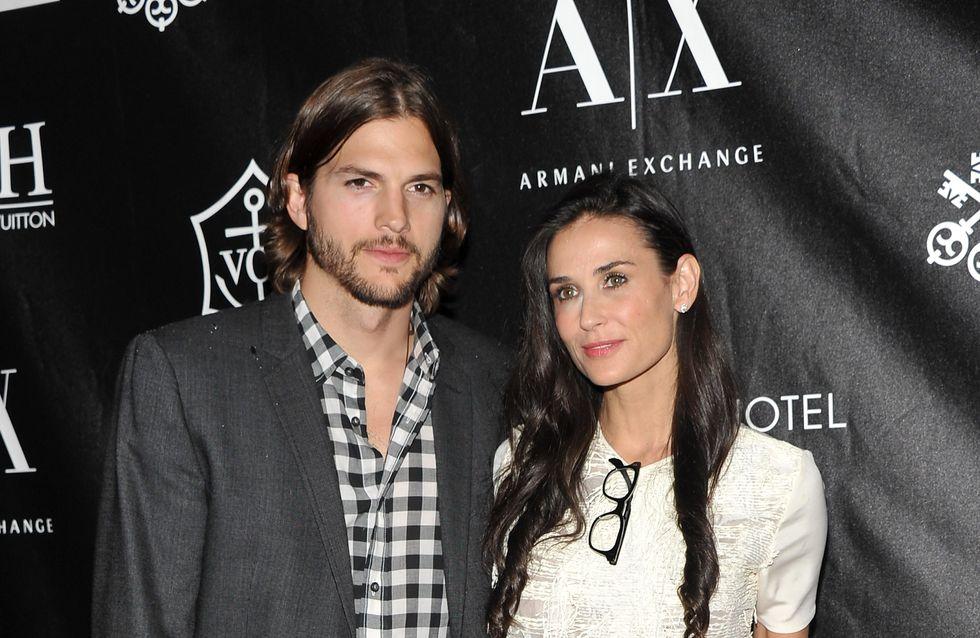 Ashton Kutcher et Demi Moore : Enfin divorcés !