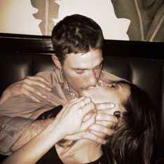 Canalis innamorata: foto del bacio