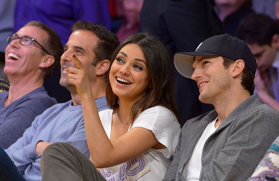 Is Mila Kunis pregnant with Ashton Kutcher's baby?