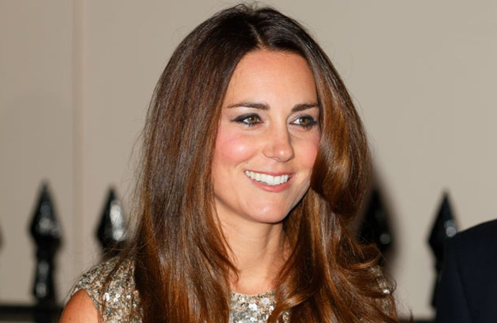 Kate Middleton leaves George with dad Prince William for girls' night out