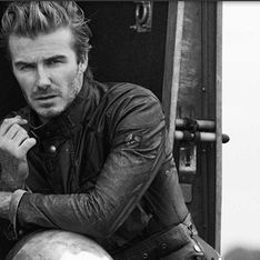 WATCH: David Beckham smoulders in biker short film for Belstaff