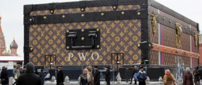 La malle géante Louis Vuitton va être démontée