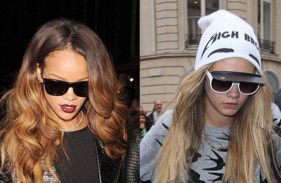 Rihanna and Cara Delevingne set up an exclusive dating club for pals