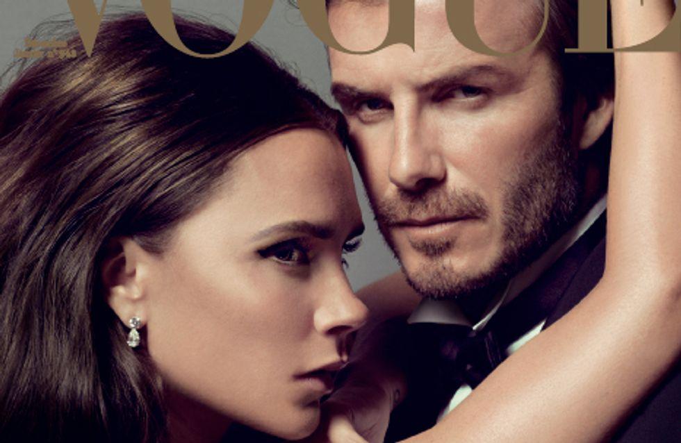 Victoria Beckham et David Beckham : Un couple envoûtant pour le Vogue Noël