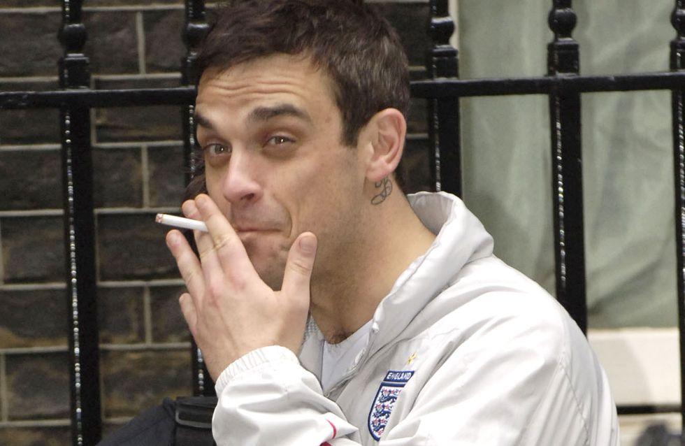Geständnis: Robbie Williams kifft regelmäßig!