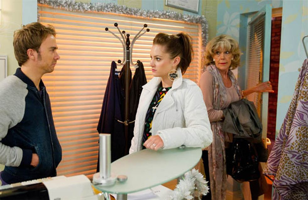 Coronation Street 08/12 – David's return causes trouble