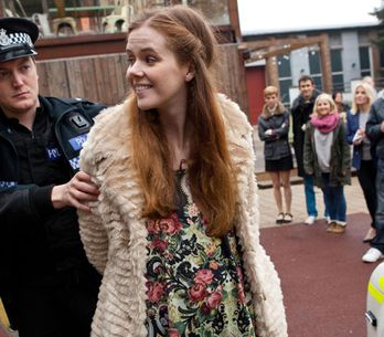 Hollyoaks 11/12 – Chloe stages a protest for Vincent