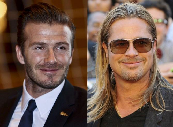 David Beckham veut que Brad Pitt l'incarne au cinéma