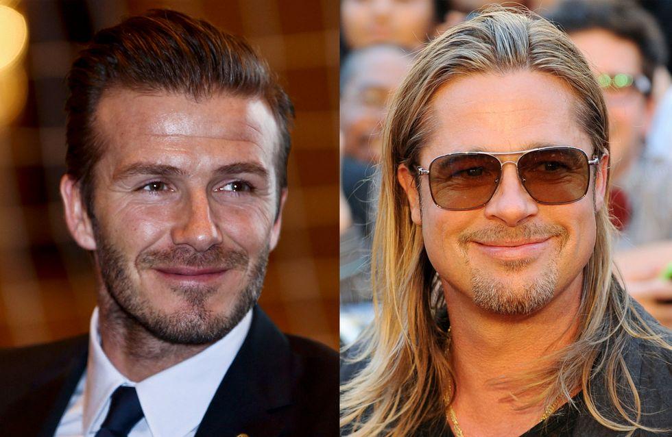Brad Pitt : Il pourrait incarner David Beckham au cinéma !