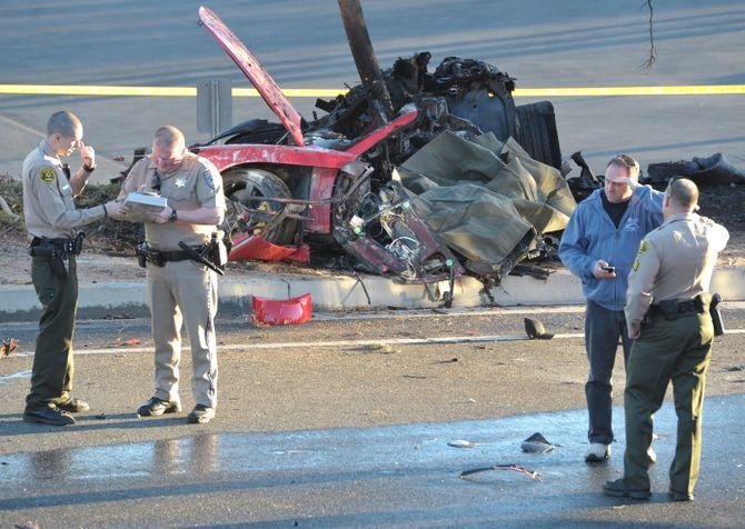 El coche en el que ha fallecido Paul Walker