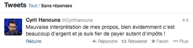 Cyril Hanouna s'excuse