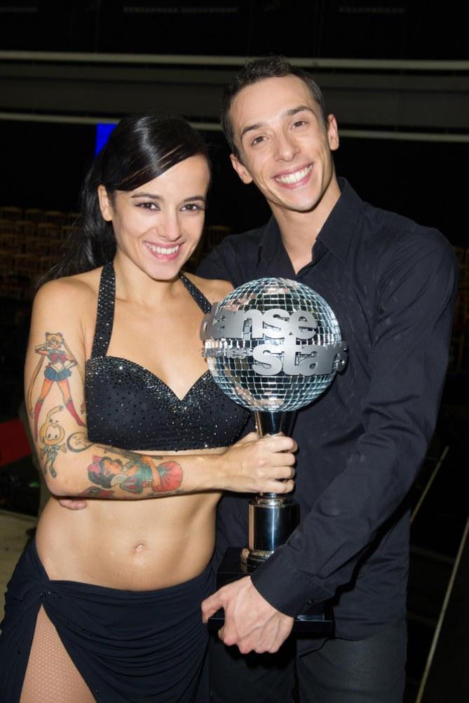 Alizée et Grégoire, vainqueurs de DALS 4