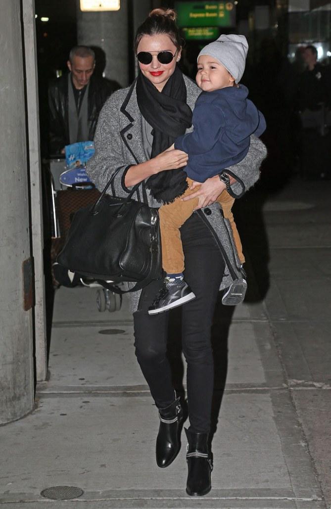 Miranda Kerr & Sohn Flynn