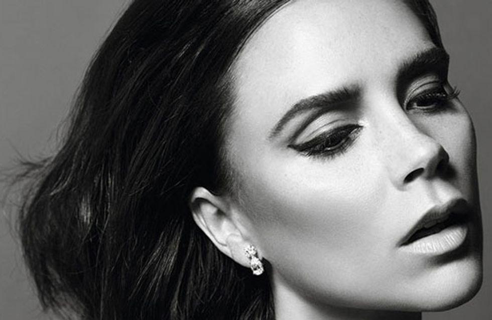 Victoria Beckham guest edits the Christmas issue of Vogue Paris