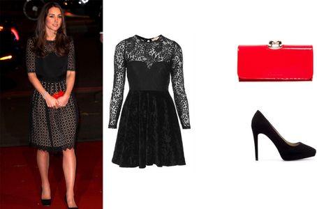 On copie le look romantique de Kate Middleton