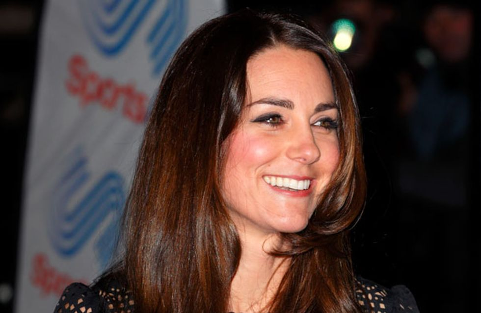 Kate Middleton dyes hair a glossy dark brown for winter
