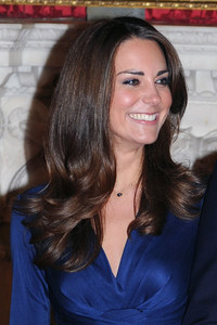 Kate Middleton dyes hair a glossy dark brown hue for winter