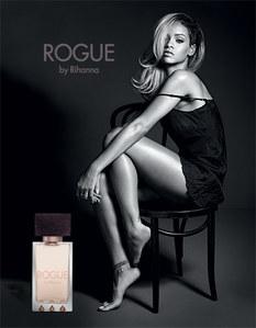 Rihanna et son parfum Rogue
