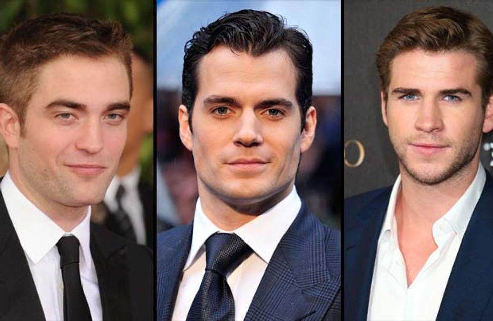Robert Pattinson, Henry Cavill, Liam Hemsworth : Qui est le plus sexy ?