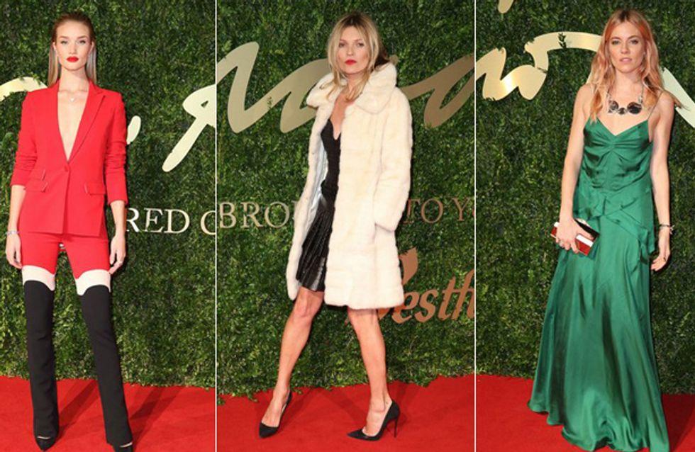 British Fashion Awards 2013: Kate Moss räumt ab!