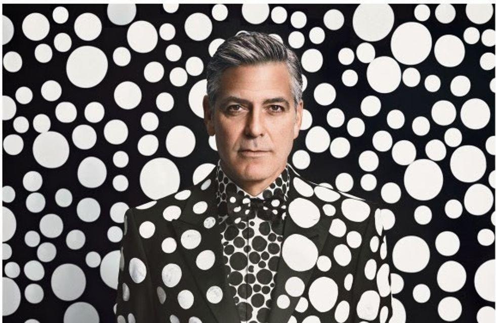 George Clooney : Sexy et déjanté pour W Magazine