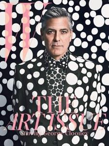 La couverture du W Magazine avec George Clooney